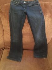 OLD NAVY girl sz 7 Reg  low rise The Darling jeans w/adjustable waist Pre Owned