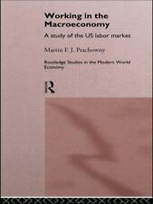 Working in the Macro Economy : A Study of the US Labor Market by Martin F. J....