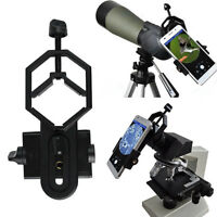 Smartphone with Spotting Scope Astronomical Telescope Microscope Mount Adapter