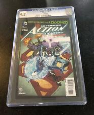 SUPERMAN ACTION COMICS #32 CGC 9.8 W/Pages DC Comics The New 52 2014
