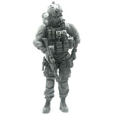 """1/35 scale model """"US Army Navy Marine Soldier with Backpack and SCAR rifle"""""""