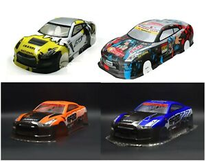 1/10 Onroad Touring Rc Car Body-Shell Nissan Gtr For Hpi Rs4 Sprint2 E10