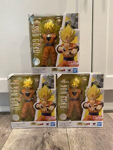 🔥IN HAND S.H.Figuarts Super Saiyan Full Power Son Goku Dragon Ball Z US SELLER