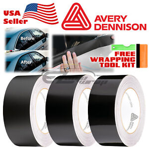 Avery Dennison Gloss / Matte / Satin Black Out Vinyl Wrap Chrome Delete Trim