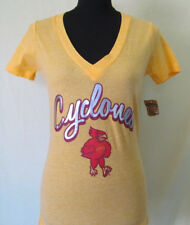 CLEARANCE NEW Iowa State Cyclones Juniors Various Sizes Women V-Neck Tee T-Shirt