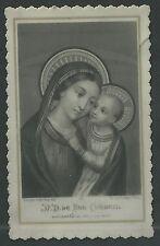 Holy card celuloide antique Virgen del Buen Consejo santino image pieuse