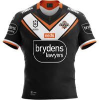 Wests Tigers 2021 Home Jersey Sizes Small - 7XL & Kids 8 - 14 NRL Steeden