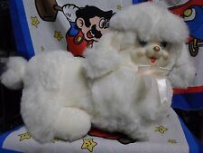Vintage White Dan Dee Puppy Surprise Stuffed Plush FIGURE NO PUPPIES