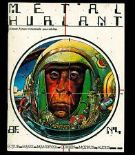 METAL HURLANT N° 4 - OCTOBRE 1975 - MOEBIUS CORBEN GOTLIB DIONNET VOSS MANDRYKA