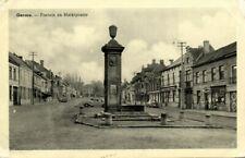 belgium, GAVERE, Fontein en Marktplaats (1950s) Postcard