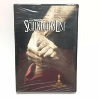 Schindlers List - Liam Neeson - New Factory Sealed DVD WS - FREE Shipping USA