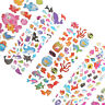 5pcs/Lot Bubble Stickers 3D Cartoon KIds Classic Toys Sticker School Reward  ^P