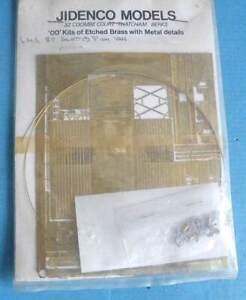 Jidenco Models Brass & White Metal 4mm Kit - LMS 8T Slatted Fish Van Wagon