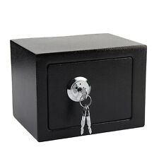 High Security Safes Key Lock Safety Strong Steel Box Home Office Money/Cash New
