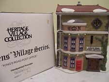 "Dept.56 DickensVillage""KINGS ROAD POST OFFICE""#58017w/acc.ENGLISH POST BOX#58050"
