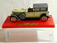 SOLIDO AGE D'OR 1:43 SCALE 1925 PANHARD LEVASSOR - SILVER & BLACK - #140 - BOXED
