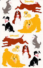 Mrs. Grossman's Giant Stickers - Neighborhood Dogs - Puppies - Puppy - 2 Strips