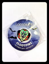 Lootcrate Pin October 2017 Mythical Lootpins New Vampire Dracula Happy Halloween