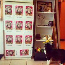 15 pcs Marilyn Monroe Magnet Painting Lot Wholesale Stock DANOR art  Pink Yello