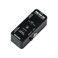 MOOER Micro DI Direct Input Box Guitar Pedal w/ True Bypass NEW