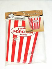NEW MOVIE NIGHT,POPCORN ,HOLLYWOOD. 4-  POPCORN  BOXES  PARTY SUPPLIES