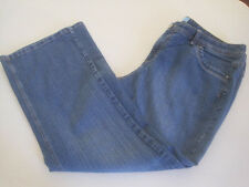 JMS STRETCH DENIM  LADIES JEANS SIZE 22W Short In Excellent Condition - 40 x 29