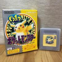 POCKET MONSTER YELLOW BOXED NINTENDO GAMEBOY Nintendo Game Boy JAPAN