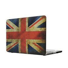 "Retro Union Jack Flag Hard Cover Case For 15"" Retina Macbook Pro A1398"