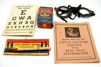 Vintage Transogram Little Country Doctor Medical Playset Parts Pieces