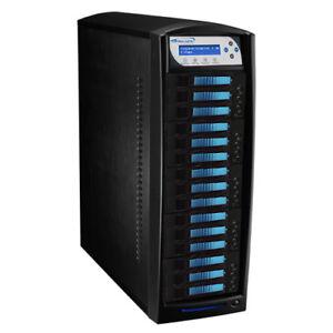 14 Target HDD Hard Drive SSD Data Clone Duplicator Standalone HDDShark-14T-BK