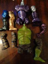 Marvel Legends - BAF Part Lot, Thor, Thanos, Kree Sentry, Hulk