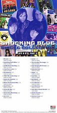 """Shocking Blue """"Single collection (A´s & B´s) Part 2"""" Mit 24 Songs! Nagelneue CD!"""