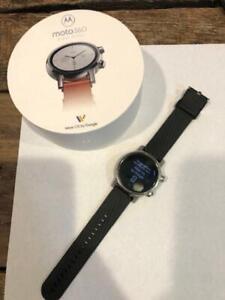 Moto 360 3rd Gen 2020 - Wear OS by Google - Luxury Stainless Steel Smartwatch