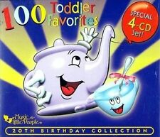 NEW 100 Toddler Favorites, 25th anniversary edition (Audio CD)
