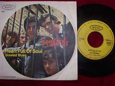 The Yardbirds - Heart full of soul / Steeled blues    rare orig. German Epic 45