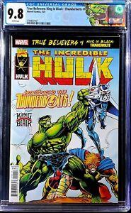 🔥 True Believers King in Black Thunderbolts #1 2021 Homage Hulk 449 🔥 immortal