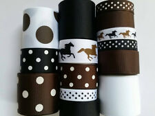 Wholesale grosgrain ribbon lot mix, horse mix print