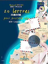 20 Lettres  Guitar Roland Dyens Book with CD LEM27329
