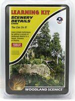Woodland Scenics LK956 Scenery Details (Learning Kit) Landscape Effects Terrain