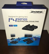DOBE P4 Series PS4/PS4 Slim/PS4 Pro Cooler, Multifunctional Cooling Stand