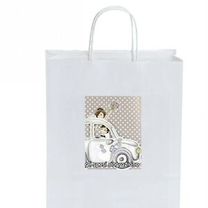 50 WEDDING BAGS BAG WB2021.66 matrimonio + omaggio