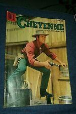 CHEYENNE #11 DELL COMICS 1959  WESTERN TV PHOTO COVER TY HARDING AS BRONCO LAYNE