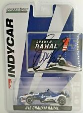 Greenlight 2018 Indy 500 Graham Rahal Autographed Signed 1:64 Scale COA