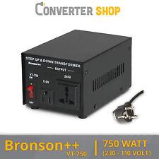 750 Watt USA Transformator 230V - 110V Volt Converter 750W Spannungswandler