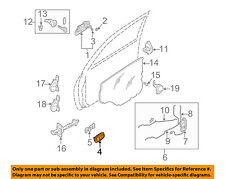 KIA OEM 02-04 Spectra-Interior Inside Door Handle Left 0K2N159330A75