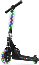 Jetson Jupiter Kick Scooter with Led Light-Up Deck, Stem, and Wheels, for Kids 5