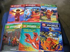 Lot 6 LEGO Books ~ NINJAGO Master of Sinjitzu ~