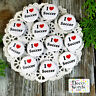 "12 Soccer Pins 1 1/4"" PINBACK Buttons Award Party Favors Pkg'd USA NEW DecoWords"