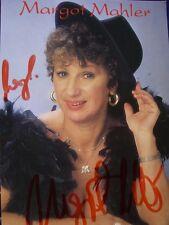 Autogramm AK Margot Mahler (+) Tatort Pumuckl Bergdoktor Sexfilme 70er Lederhose