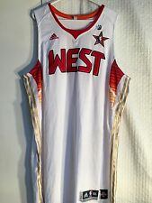 Adidas Authentic NBA Jersey All Star West Team White sz 56